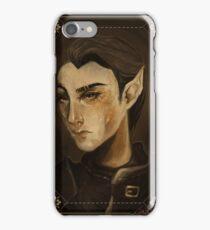 thief portrait iPhone Case/Skin