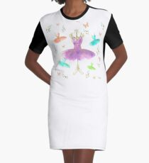 Dancing Queen Graphic T-Shirt Dress