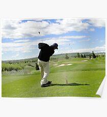 Golf Swing H Poster