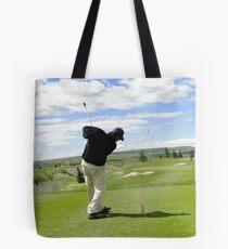 Golf Swing H Tote Bag
