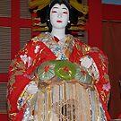 Japan, Tokyo, National Museum, costume display. by johnrf