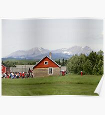 Bar U Ranch, Canada Day 2010 Poster