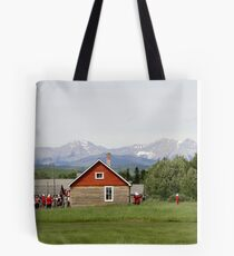 Bar U Ranch, Canada Day 2010 Tote Bag
