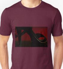 Heels and red light Unisex T-Shirt