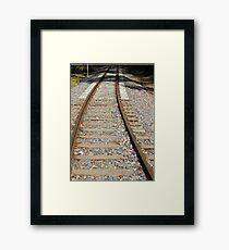 Railway Track Framed Print