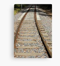 Railway Track Canvas Print