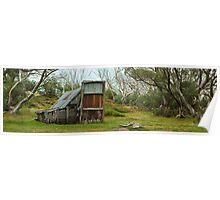 The Wallace Hut Poster