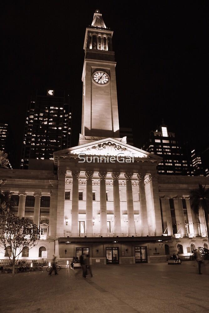 Town Hall, Kings Square, Brisbane, Qld, Australia - Sepia by SunnieGal