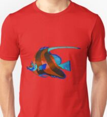 Red odd fish painting T-Shirt