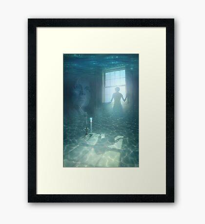 TEARS OF ATLANTIS Framed Print