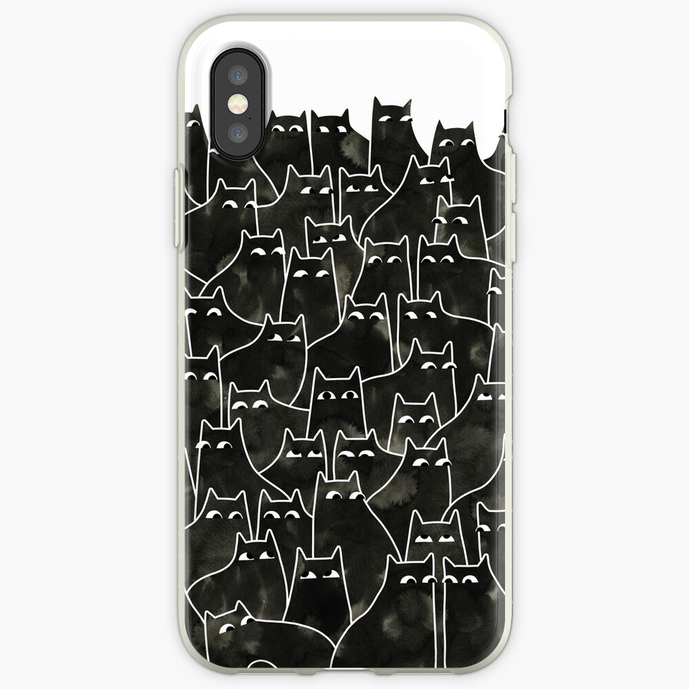 Suspicious Cats iPhone Cases & Covers