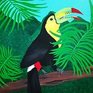 Keel Billed Toucan by Joann Barrack