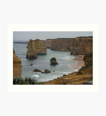 The 12 Apostles. that are no longer the '12' Apostles Art Print
