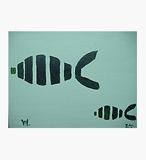 fishes with mika Photographic Print