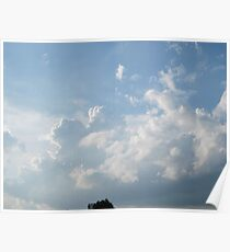 Saturday Afternoon Clouds III Poster