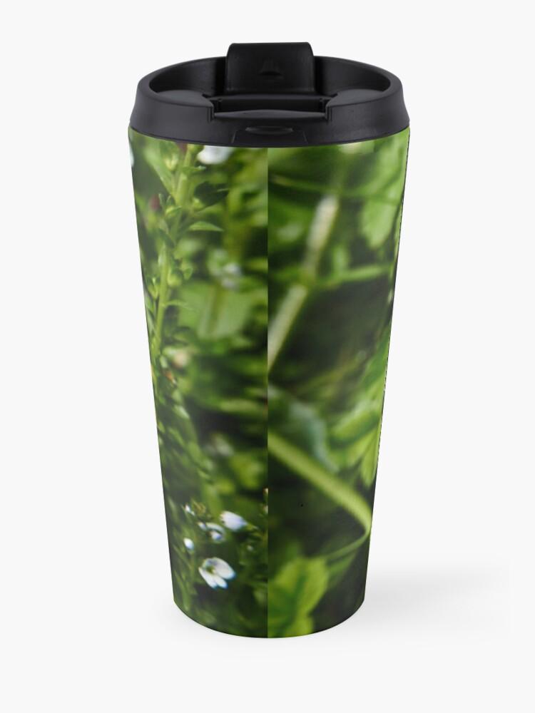 Alternate view of Thyme-leaved Speedwell (Veronica serpyllifolia) Travel Mug