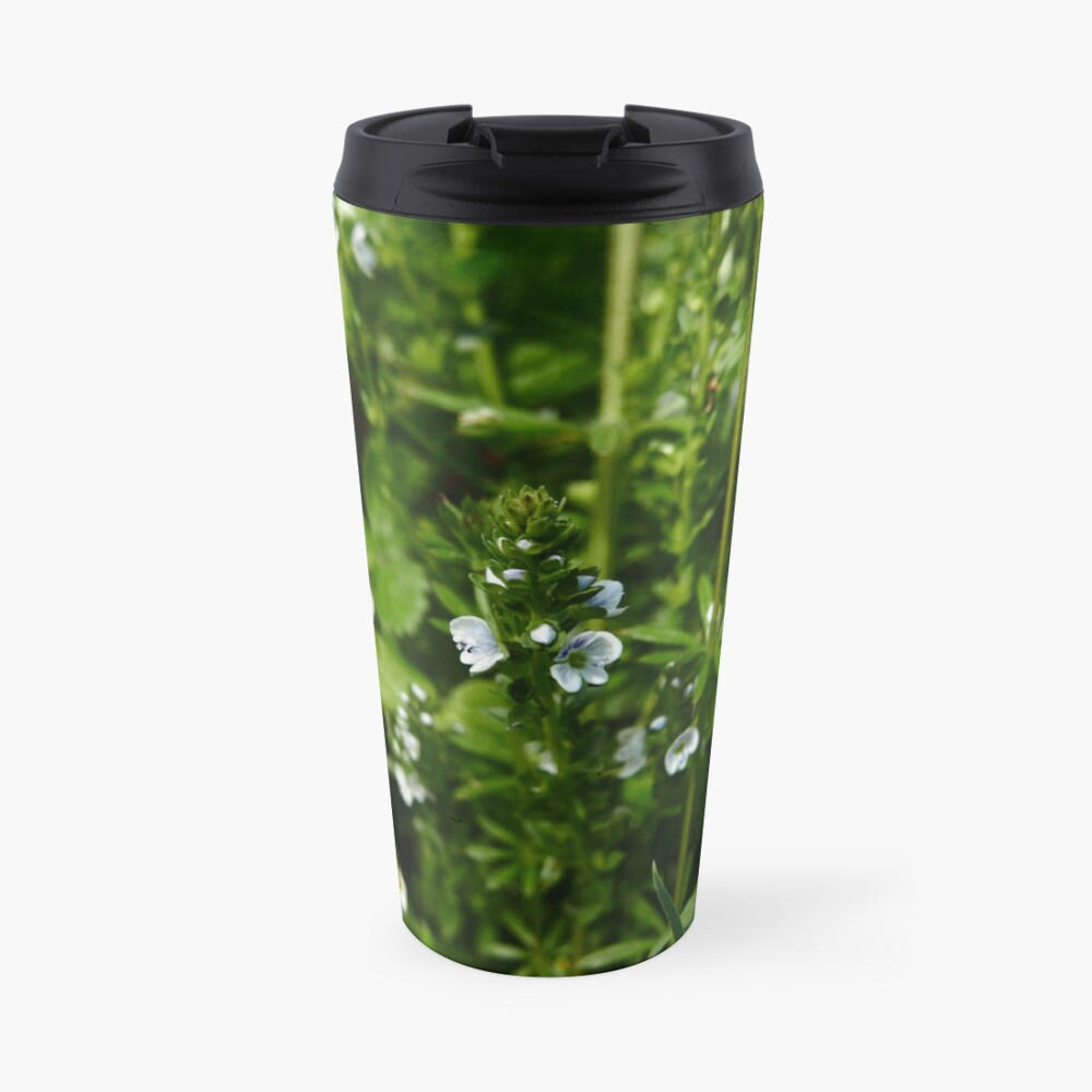 Thyme-leaved Speedwell (Veronica serpyllifolia) Travel Mug