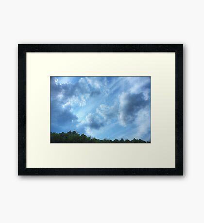 Heavenly (version I) Framed Print