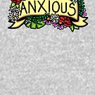 Anxious Flower Banner - Life with an Anxiety Disorder by TimorousEclectc