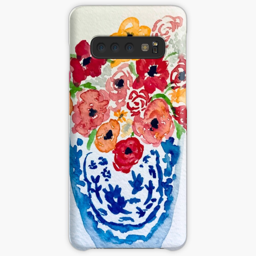 Summer Flowers  Case & Skin for Samsung Galaxy