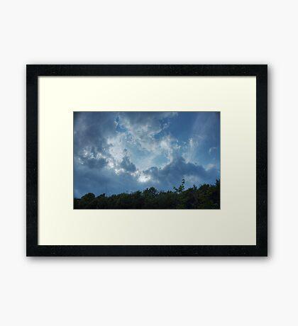 Heavenly (version III) Framed Print