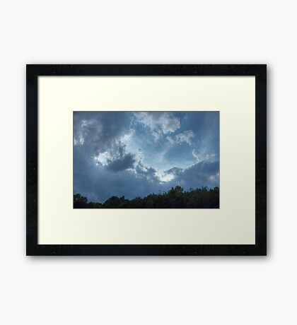 Heavenly (version IV) Framed Print