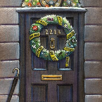 Sherlock Christmas 221 b by illustore
