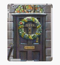 Sherlock Christmas 221 b iPad Case/Skin