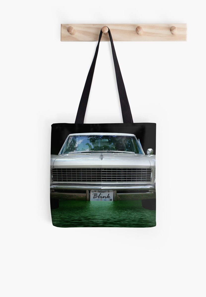 1965 Buick Riviera Grand Sport Blink Tote Bags By Teemack 1950s And 1960s