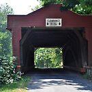 View thru the Bridge by Corkle