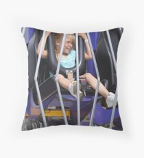 What a Ride! Throw Pillow