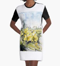 Country Beauties Graphic T-Shirt Dress