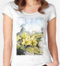 Country Beauties Fitted Scoop T-Shirt