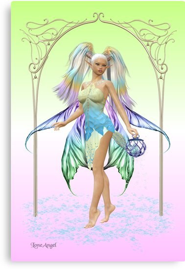 The Fairy .. Crystal by LoneAngel