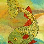 Fish in Sea, brighter by KatDoodling