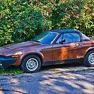 1980 Triumph TR-7 by Bryan D. Spellman