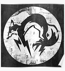 Foxhound V1 (White) Poster