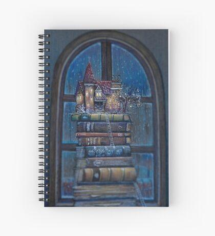Castle Book Spiral Notebook
