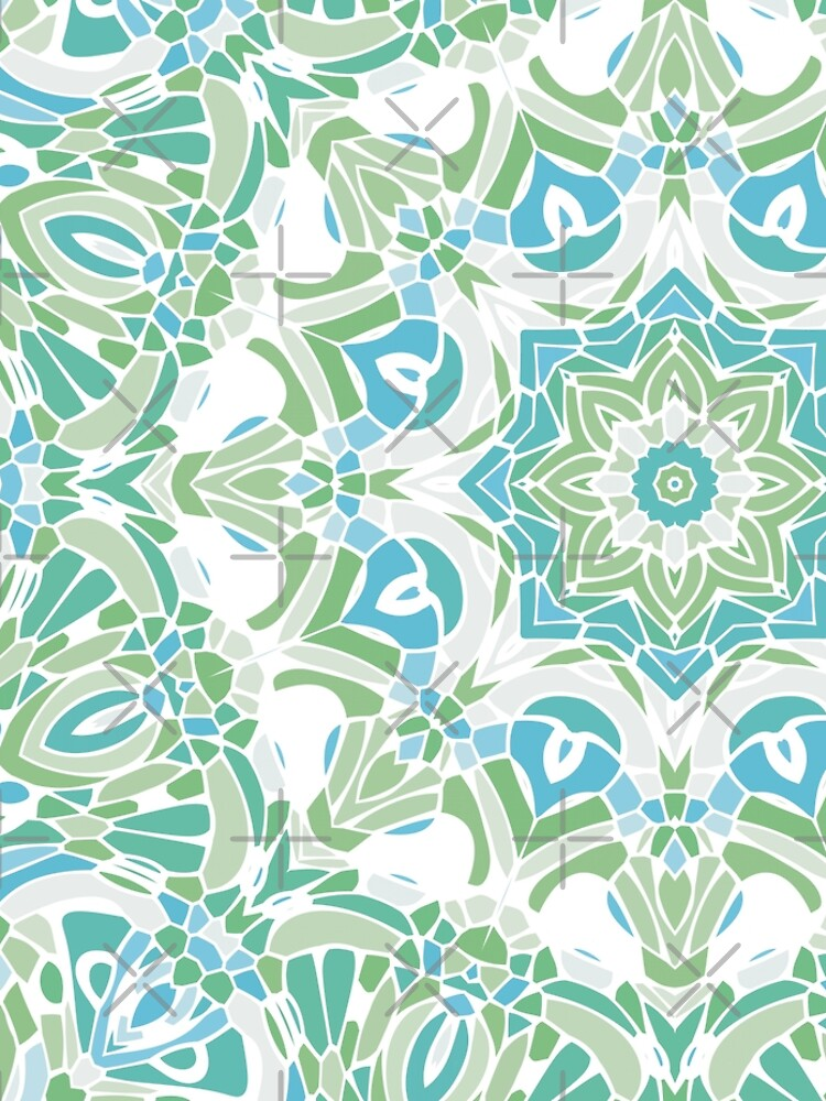 Sea Green Mandala by kellydietrich