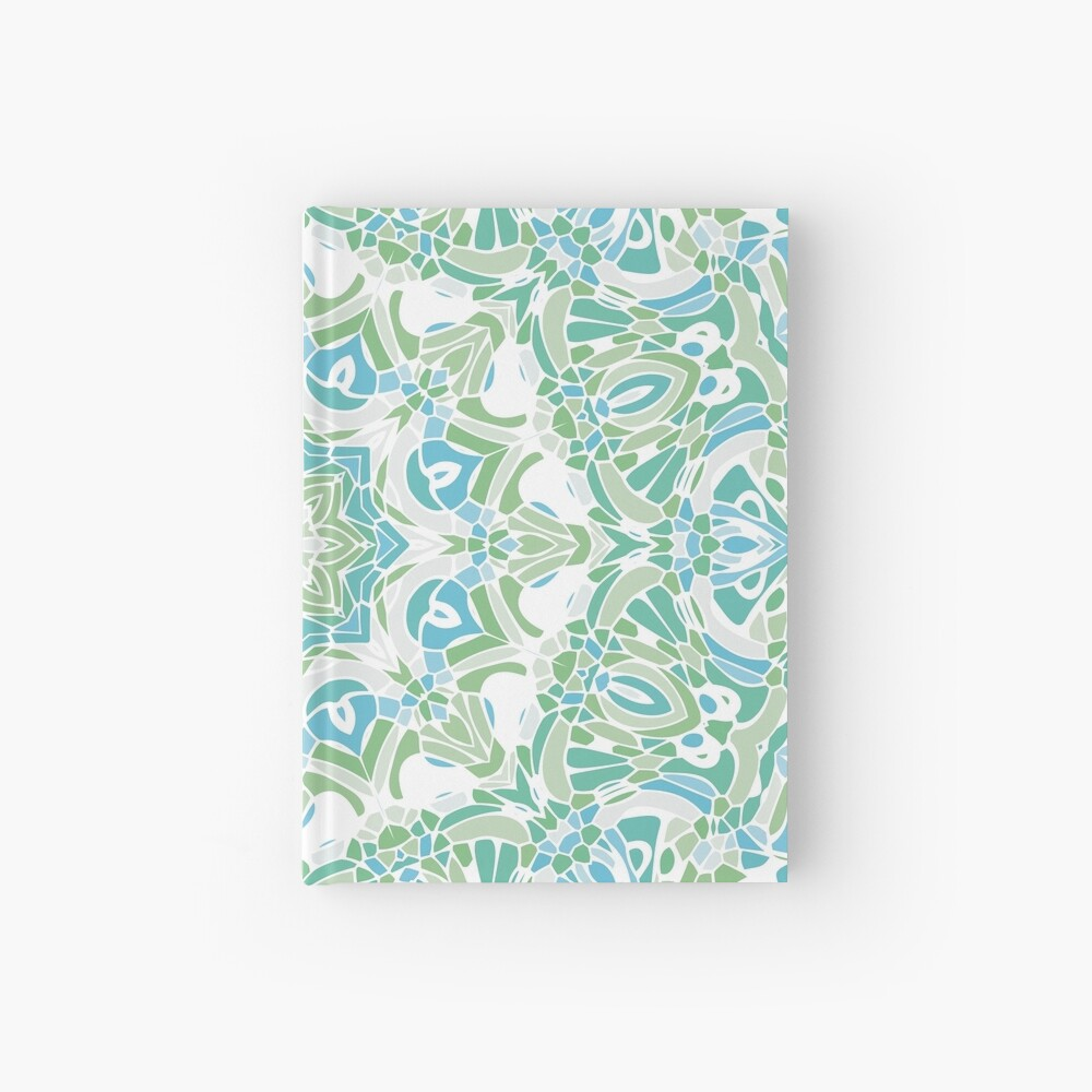 Sea Green Mandala Hardcover Journal