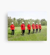 Northwest Mounted Police Regiment Metal Print