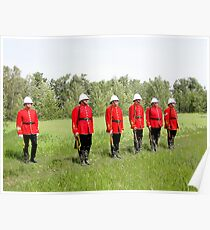 Northwest Mounted Police Regiment Poster
