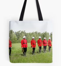 Northwest Mounted Police Regiment Tote Bag