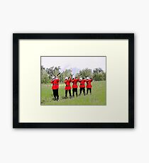 The Volley, Canada Day 2010 Framed Print