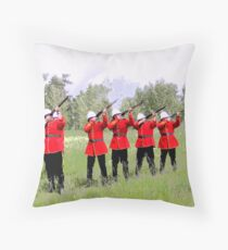 The Volley, Canada Day 2010 Throw Pillow