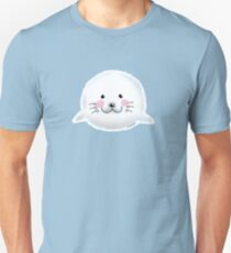 Cute baby seal animal cartoon T-Shirt