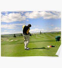 Golf Swing I Poster
