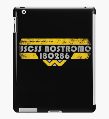 U S C S S   N O S T R O M O iPad Case/Skin