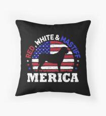 Cojín de suelo Mastiff 4th of July American Flag