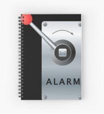 Alarm B Spiral Notebook